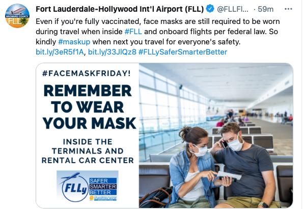 airports masks airplanes