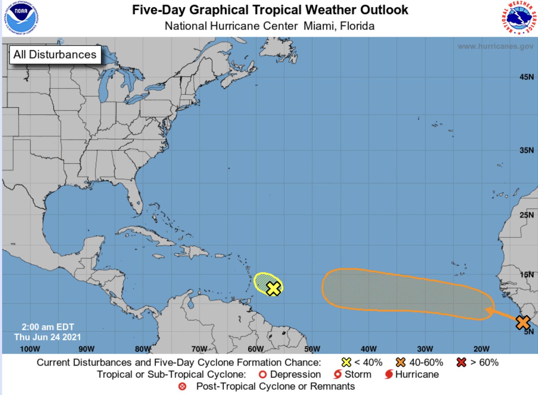 Hurricane Center June 24 2021