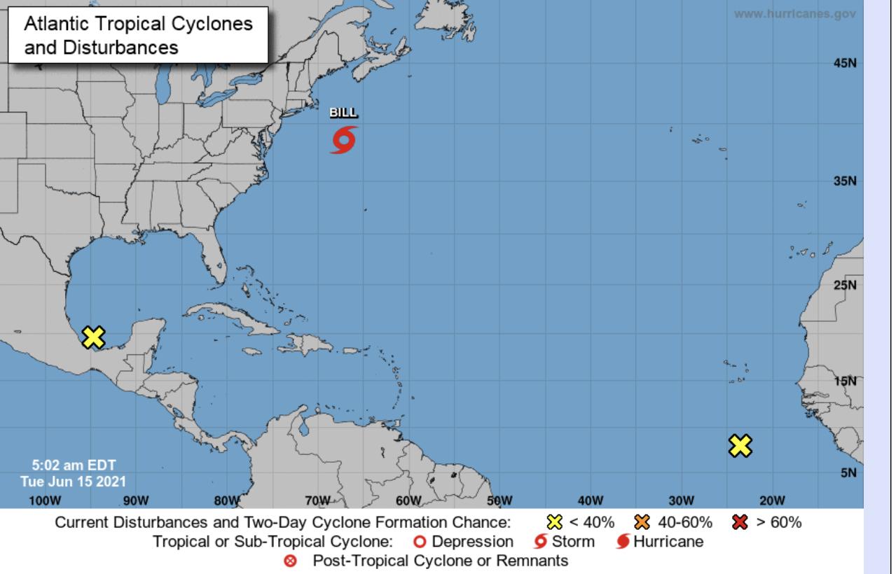 National hurricane center June 15 2021 6a