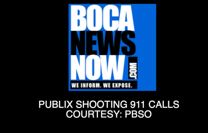 Publix shooter 911 calls