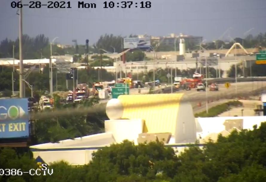 I-95 closure crash