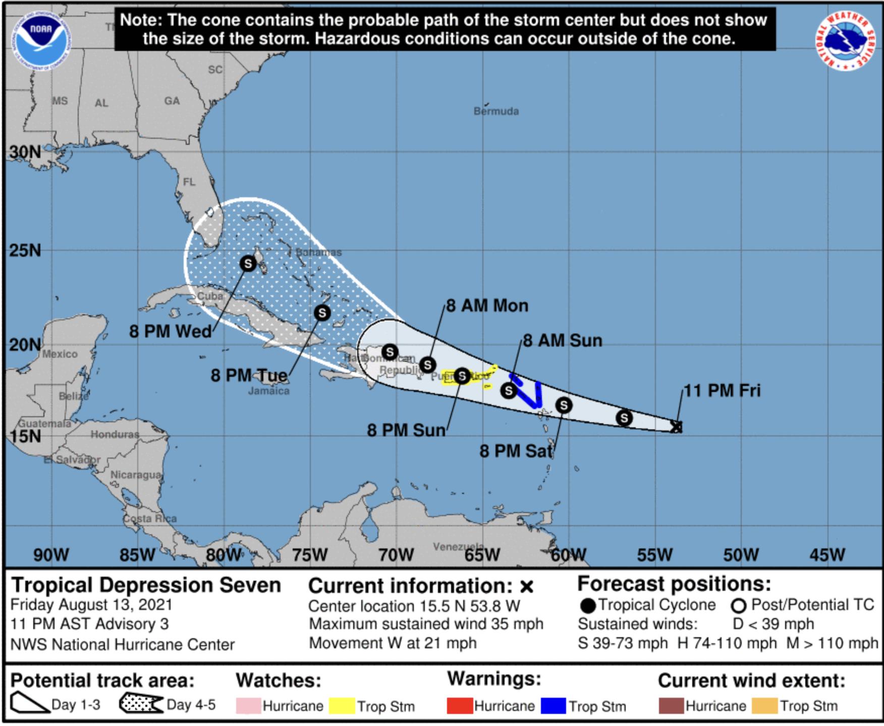 Tropical depression 7