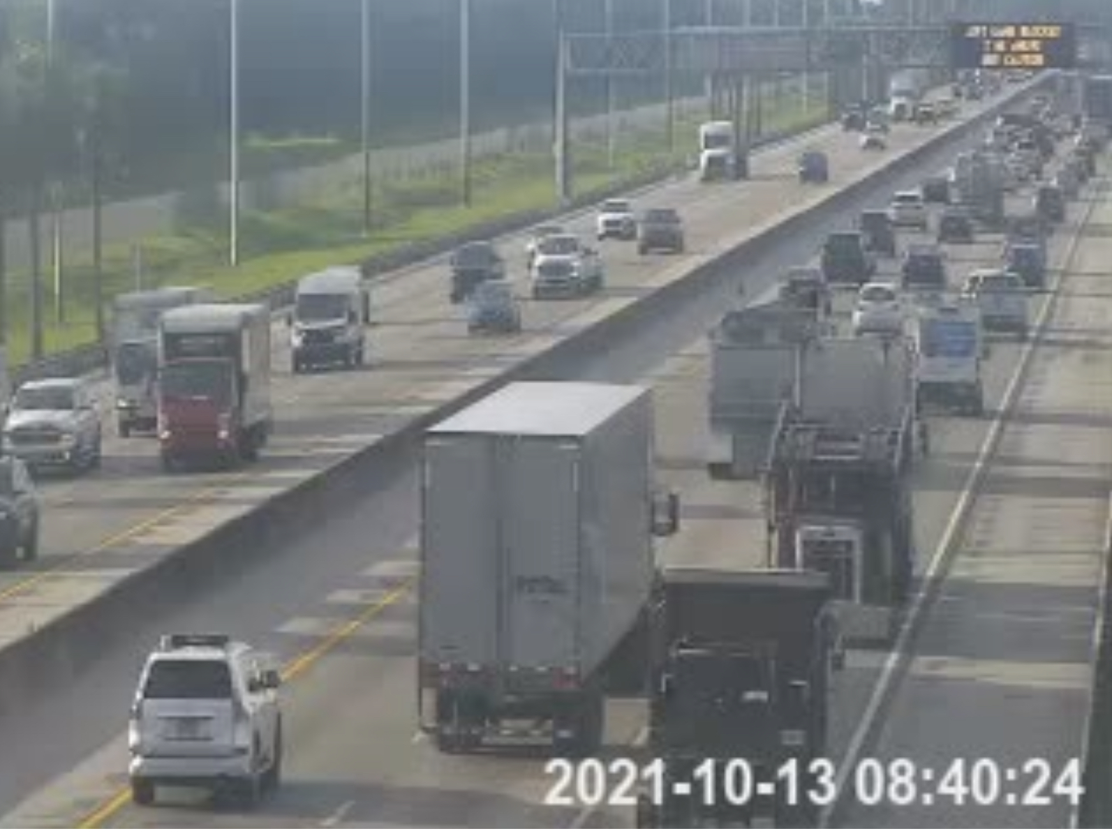Florida Turnpike Crash Glades Road