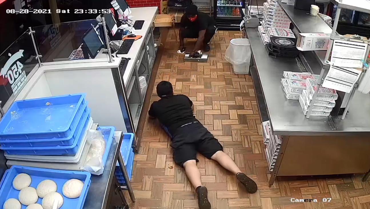 domino's pizza robbery